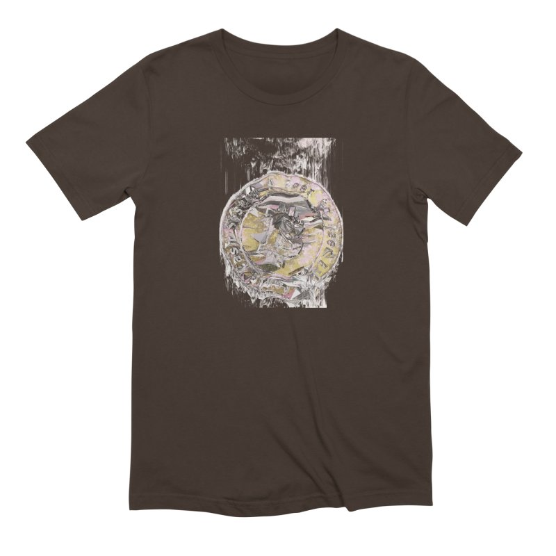 Bitcoin - gld Men's Extra Soft T-Shirt by A R T L y - Goh's Shop