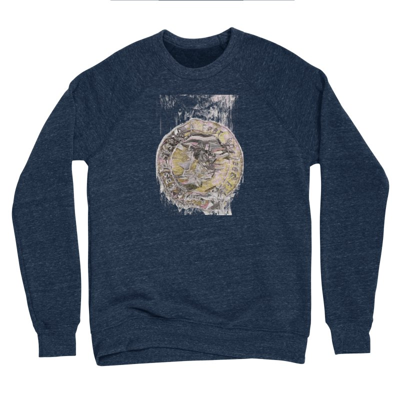 Bitcoin - gld Men's Sponge Fleece Sweatshirt by A R T L y - Goh's Shop