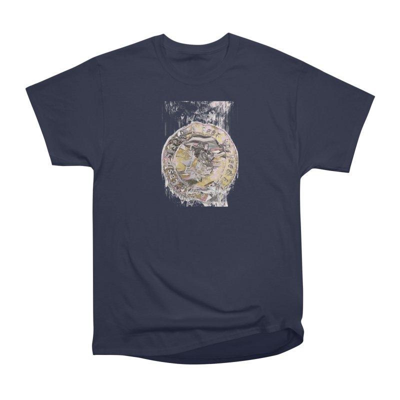 Bitcoin - gld Men's Heavyweight T-Shirt by A R T L y - Goh's Shop