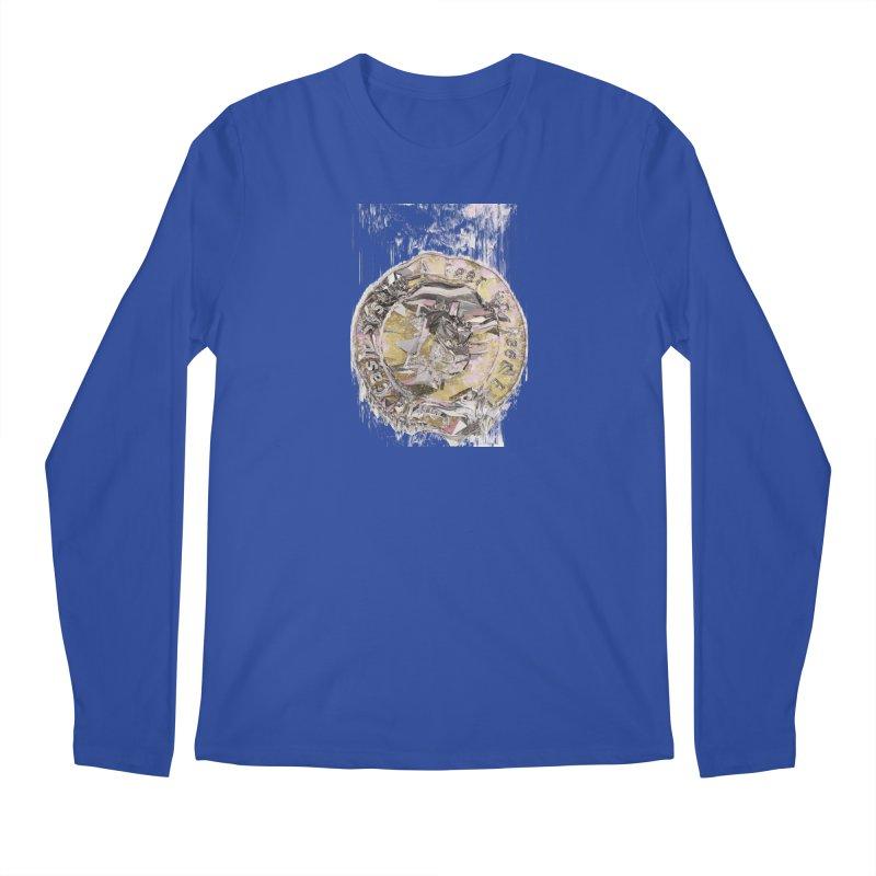 Bitcoin - gld Men's Regular Longsleeve T-Shirt by A R T L y - Goh's Shop