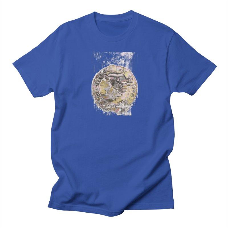 Bitcoin - gld Men's Regular T-Shirt by A R T L y - Goh's Shop
