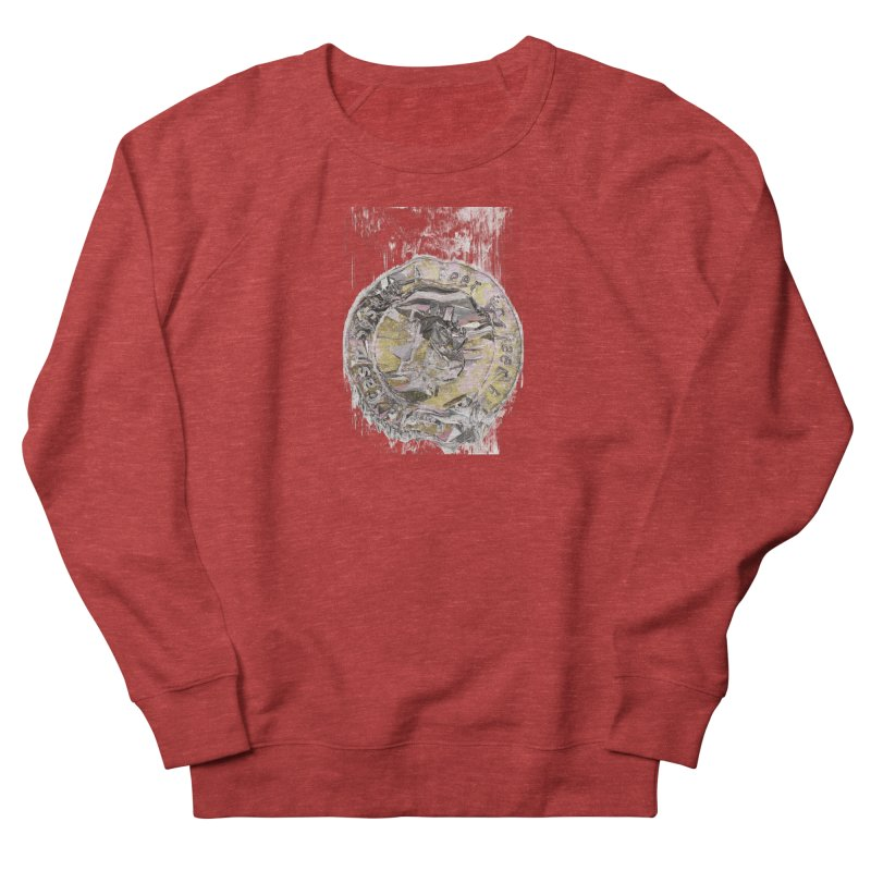 Bitcoin - gld Women's French Terry Sweatshirt by A R T L y - Goh's Shop