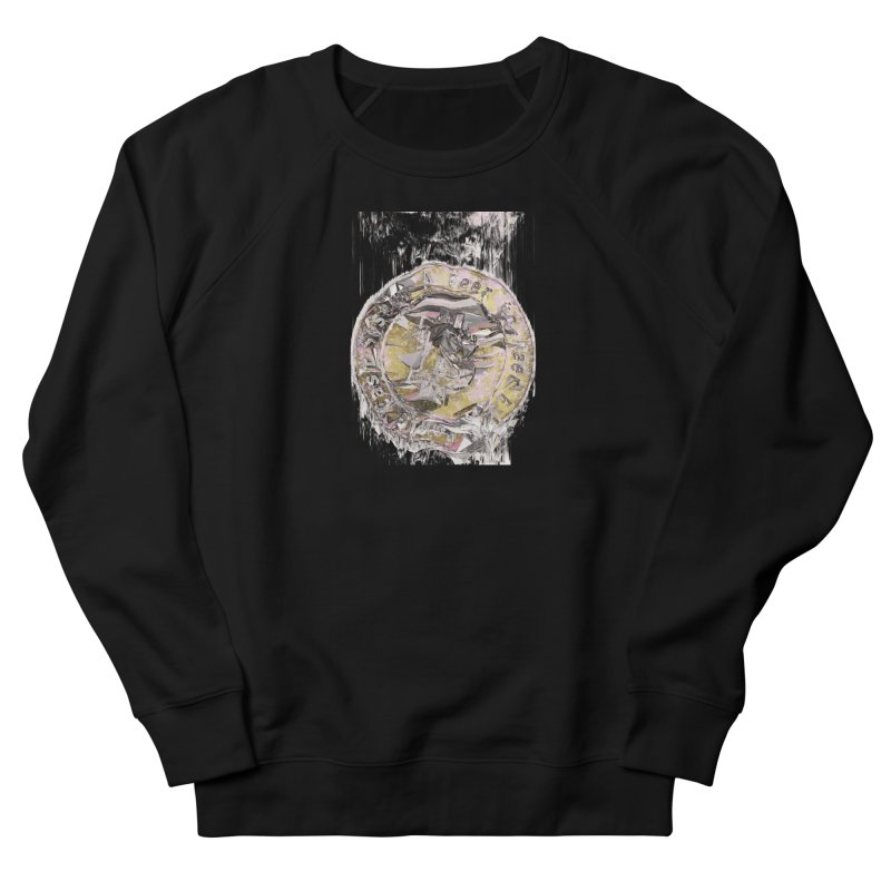 Bitcoin - gld Men's French Terry Sweatshirt by A R T L y - Goh's Shop