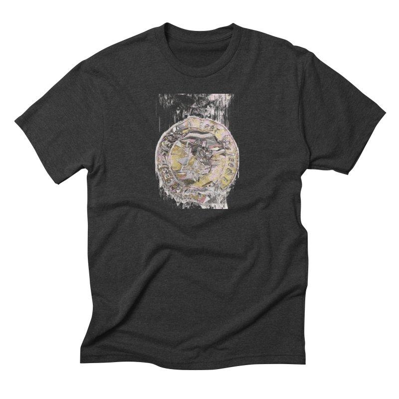 Bitcoin - gld Men's Triblend T-Shirt by A R T L y - Goh's Shop