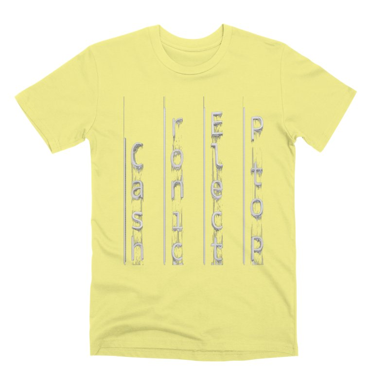 P to P Electronic Cash Men's Premium T-Shirt by A R T L y - Goh's Shop