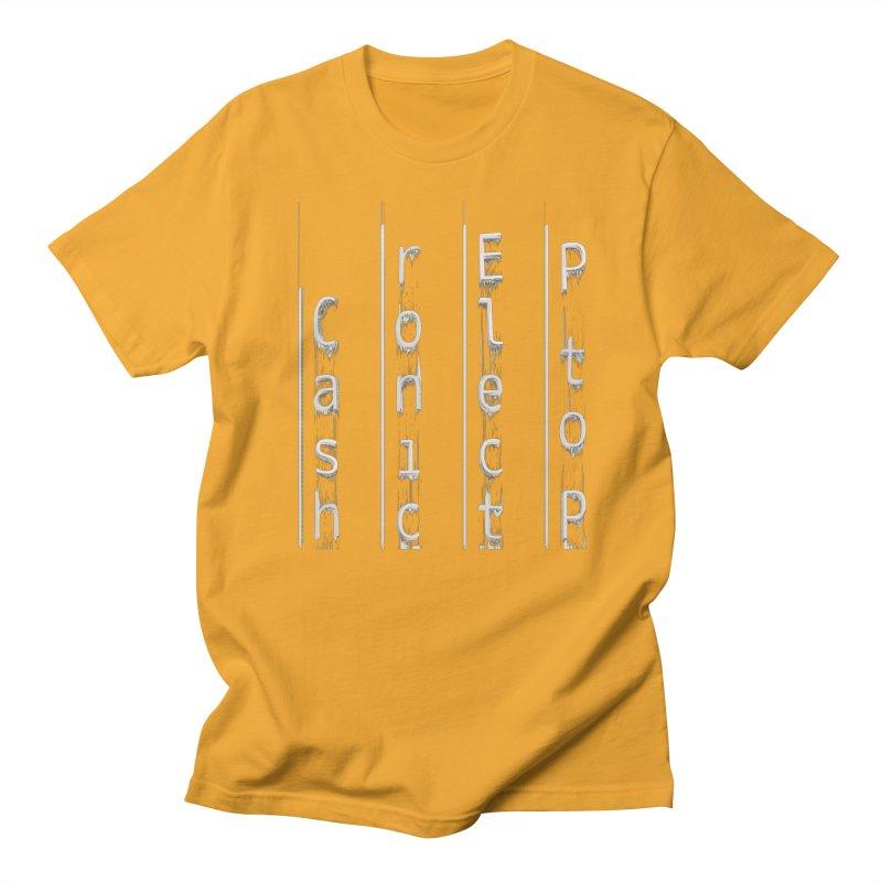 P to P Electronic Cash Men's T-Shirt by A R T L y - Goh's Shop