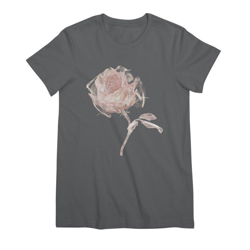 Super Rose - wre Women's Premium T-Shirt by A R T L y - Goh's Shop