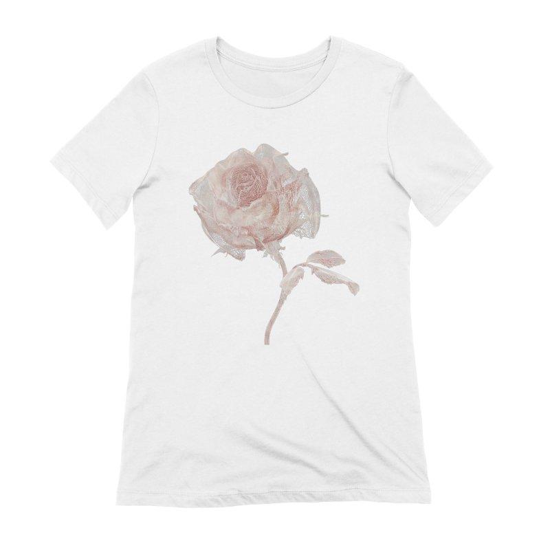Super Rose - wre Women's Extra Soft T-Shirt by A R T L y - Goh's Shop