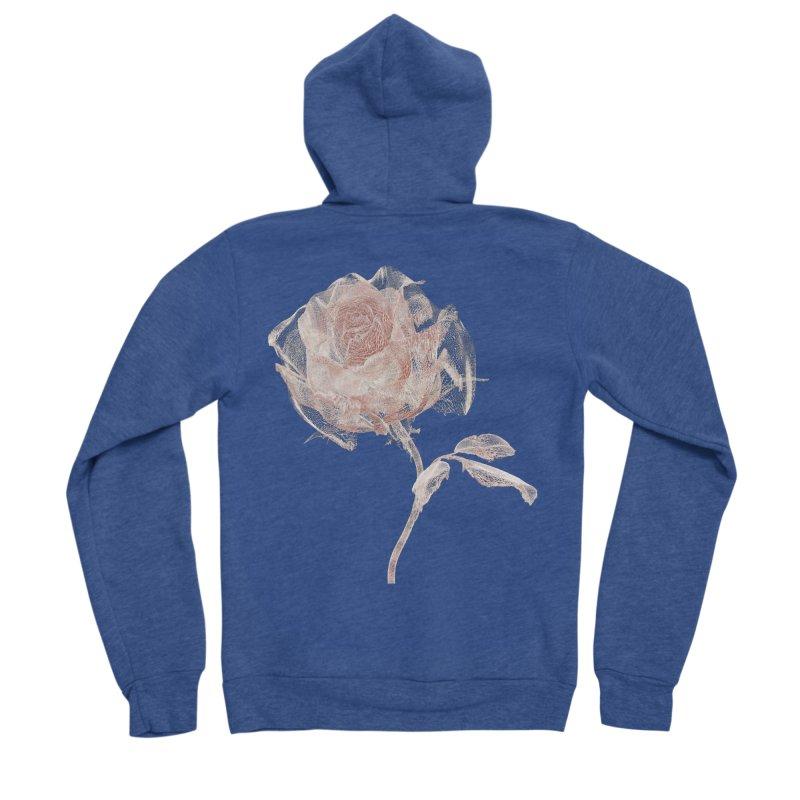 Super Rose - wre Women's Sponge Fleece Zip-Up Hoody by A R T L y - Goh's Shop