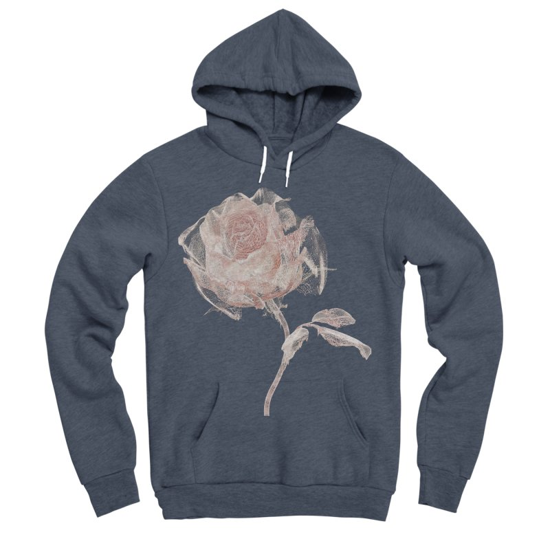 Super Rose - wre Women's Sponge Fleece Pullover Hoody by A R T L y - Goh's Shop