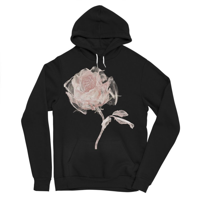 Super Rose - wre Men's Sponge Fleece Pullover Hoody by A R T L y - Goh's Shop