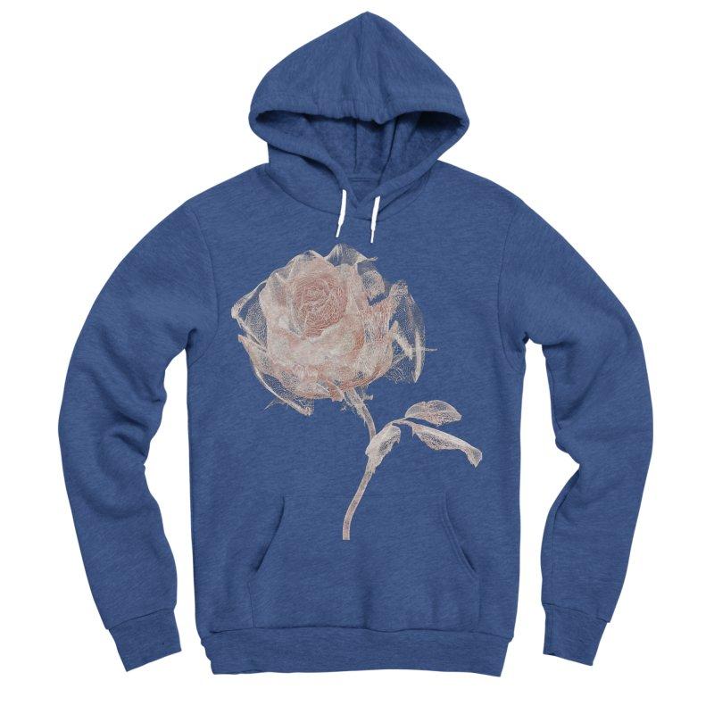 Super Rose - wre Women's Sponge Fleece Pullover Hoody by A R T L y - Goh's Shop