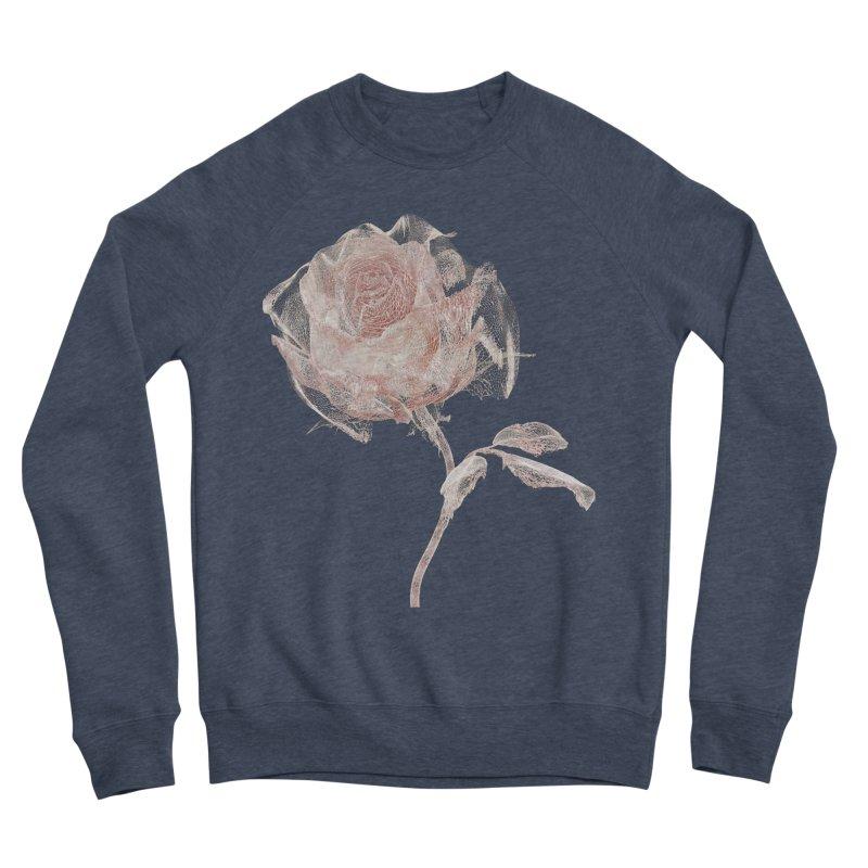 Super Rose - wre Women's Sponge Fleece Sweatshirt by A R T L y - Goh's Shop