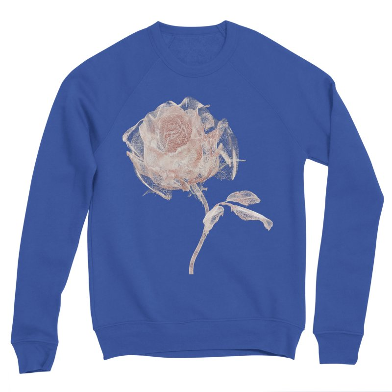 Super Rose - wre Men's Sponge Fleece Sweatshirt by A R T L y - Goh's Shop