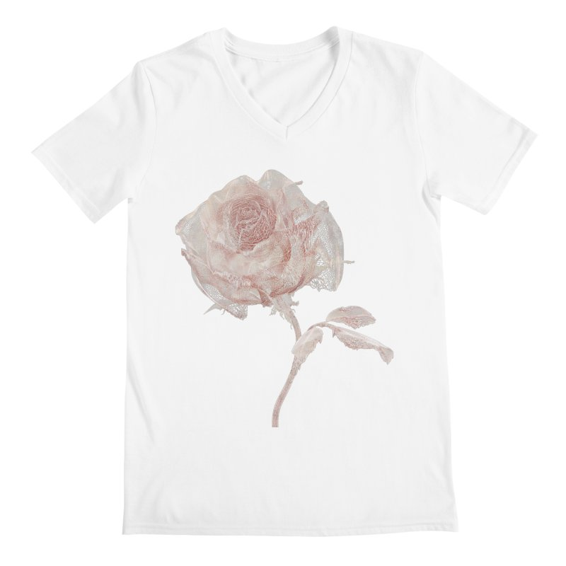 Super Rose - wre Men's V-Neck by A R T L y - Goh's Shop