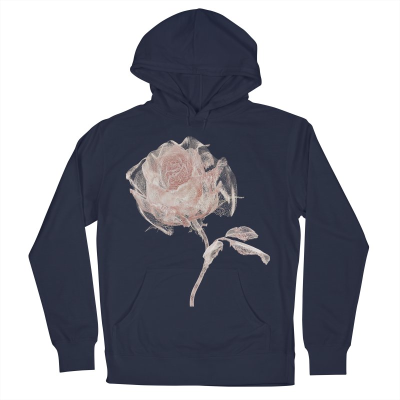 Super Rose - wre Women's French Terry Pullover Hoody by A R T L y - Goh's Shop