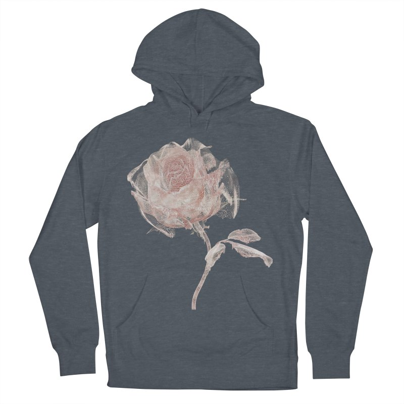 Super Rose - wre Men's French Terry Pullover Hoody by A R T L y - Goh's Shop
