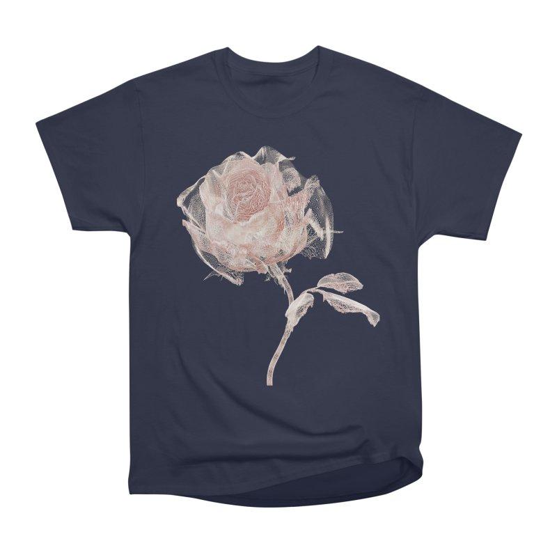 Super Rose - wre Men's Heavyweight T-Shirt by A R T L y - Goh's Shop