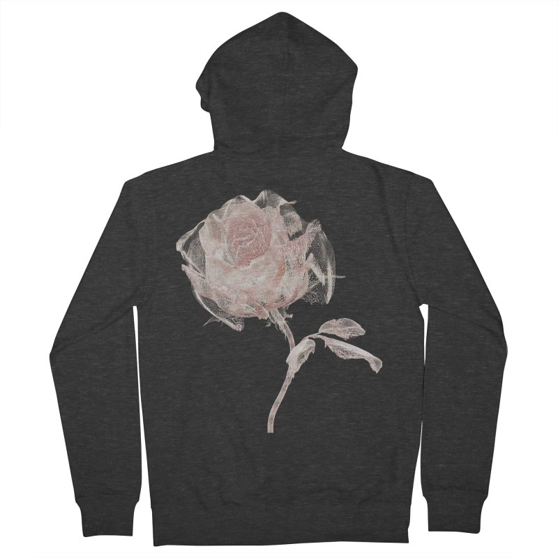 Super Rose - wre Women's French Terry Zip-Up Hoody by A R T L y - Goh's Shop