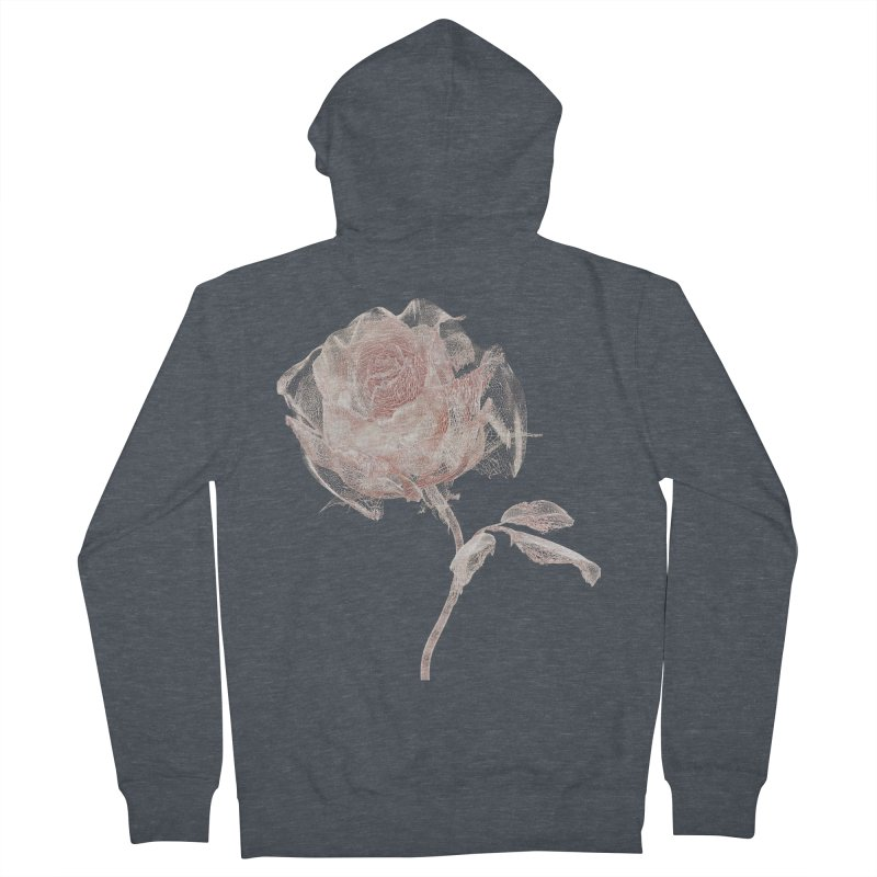 Super Rose - wre Men's French Terry Zip-Up Hoody by A R T L y - Goh's Shop