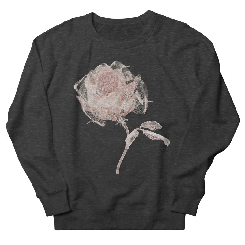 Super Rose - wre Men's French Terry Sweatshirt by A R T L y - Goh's Shop