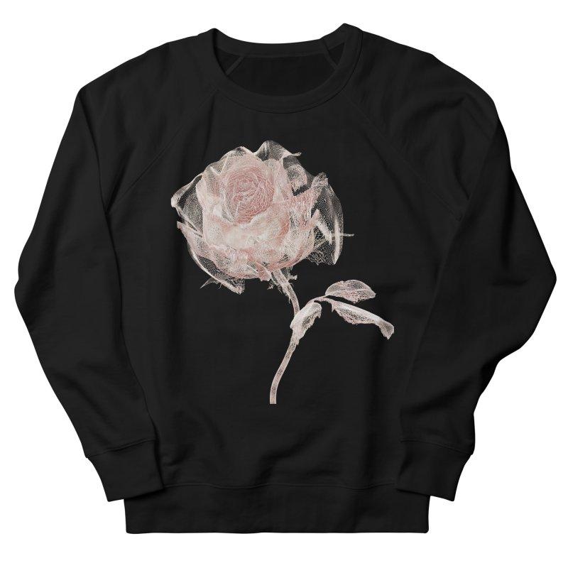 Super Rose - wre Men's French Terry Sweatshirt by A R T L y - Goh's Shop
