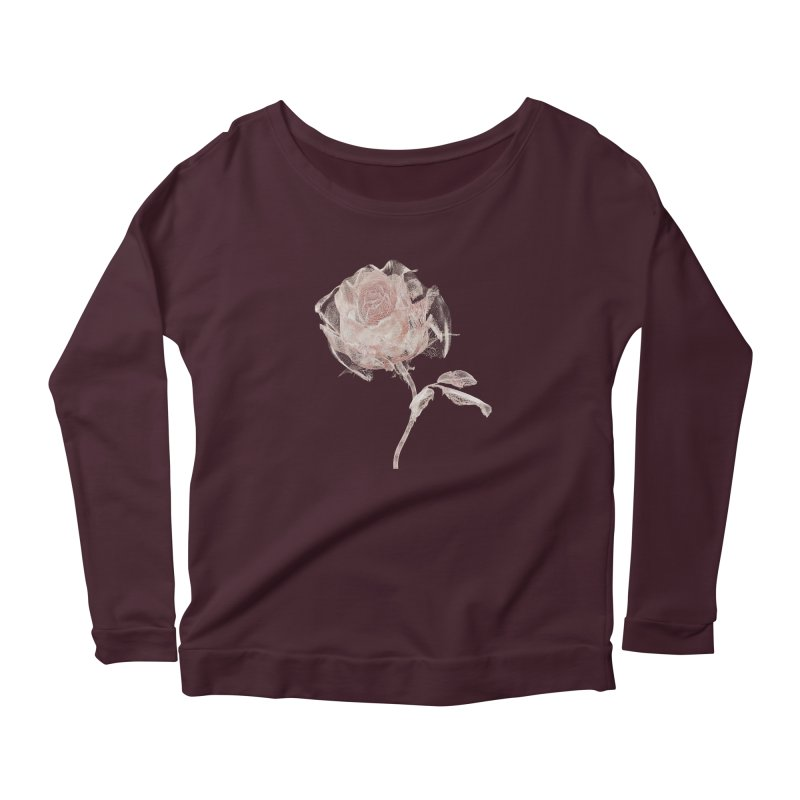 Super Rose - wre Women's Longsleeve T-Shirt by A R T L y - Goh's Shop