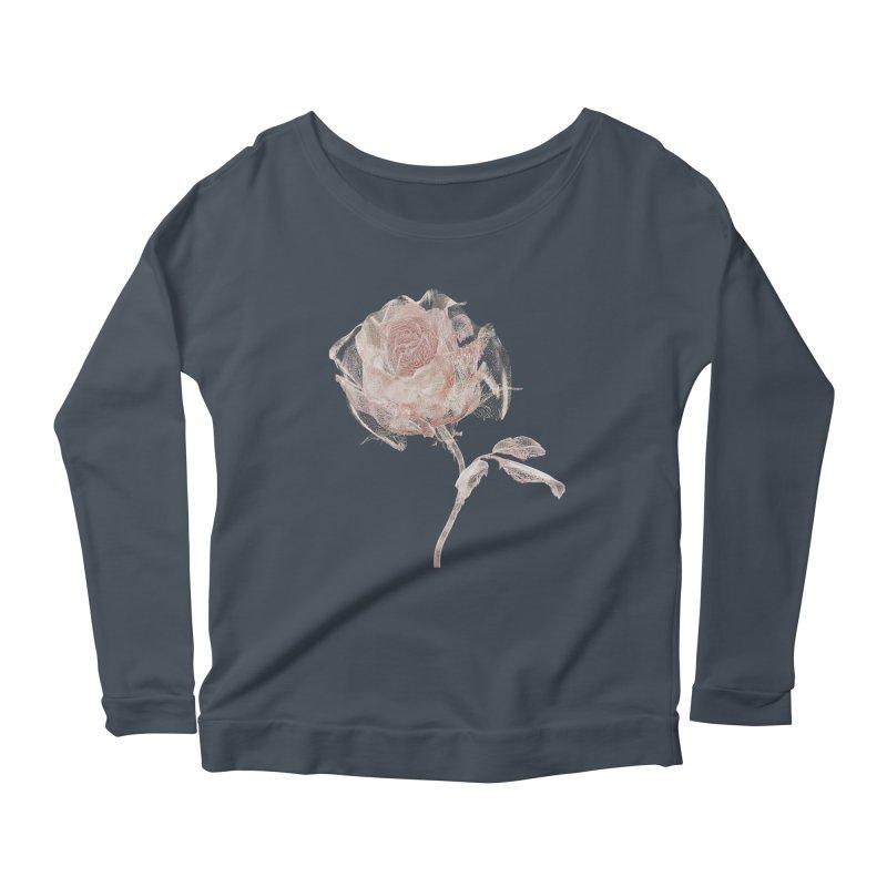 Super Rose - wre Women's Scoop Neck Longsleeve T-Shirt by A R T L y - Goh's Shop