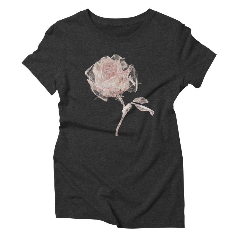 Super Rose - wre Women's Triblend T-Shirt by A R T L y - Goh's Shop