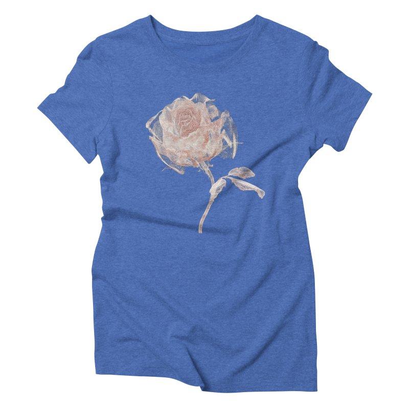 Super Rose - wre Women's Triblend T-Shirt by A R T L y - Goh's Shop