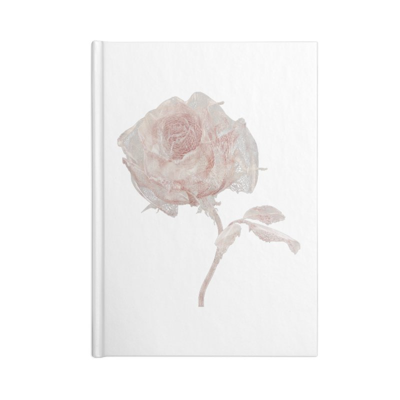 Super Rose - wre Accessories Lined Journal Notebook by A R T L y - Goh's Shop