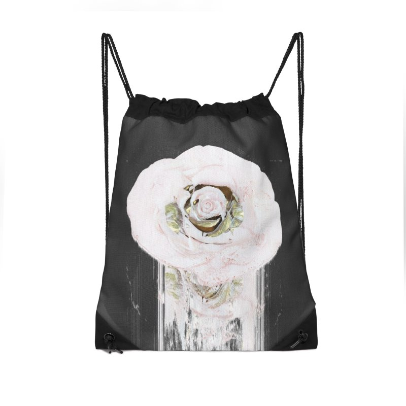 Super Rose Accessories Drawstring Bag Bag by A R T L y - Goh's Shop