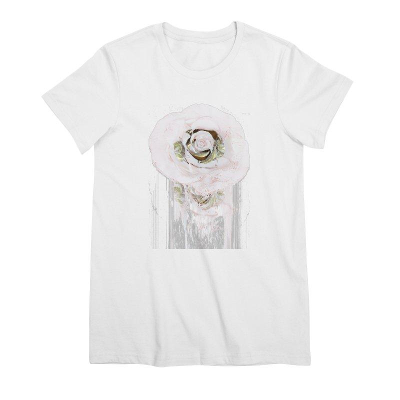 Super Rose Women's Premium T-Shirt by A R T L y - Goh's Shop