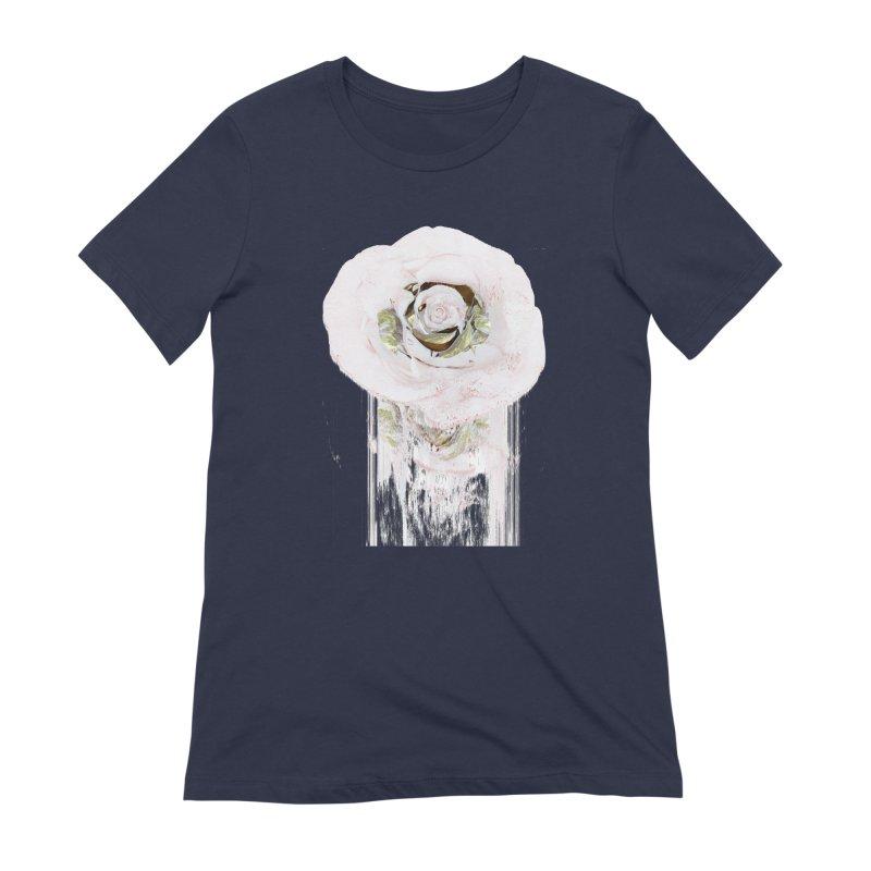 Super Rose Women's Extra Soft T-Shirt by A R T L y - Goh's Shop