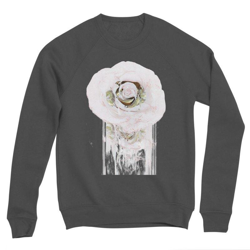 Super Rose Women's Sponge Fleece Sweatshirt by A R T L y - Goh's Shop