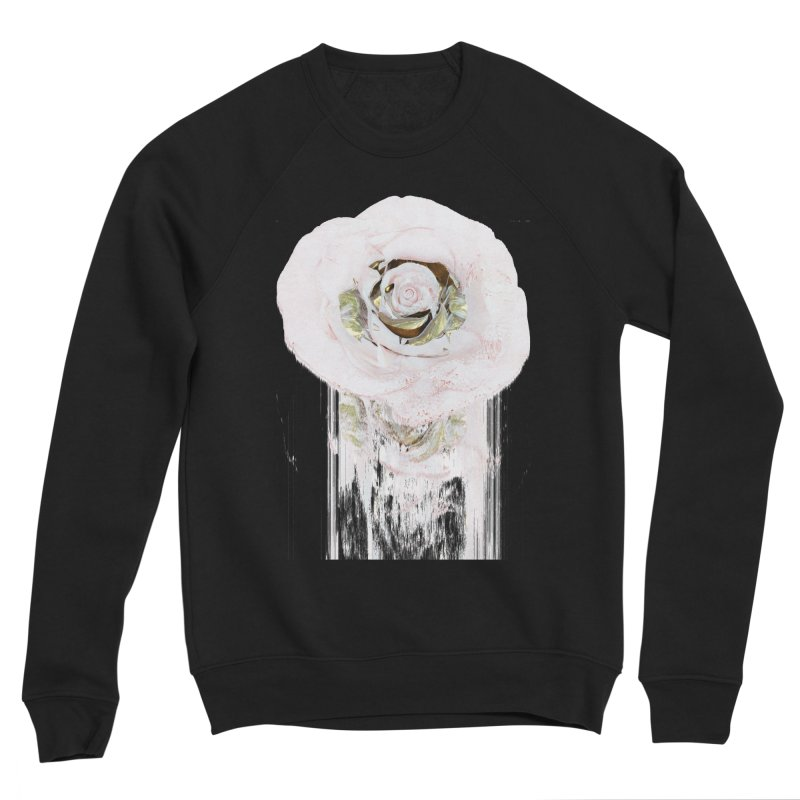 Super Rose Women's Sponge Fleece Sweatshirt by A R T L y - Goh's Shop