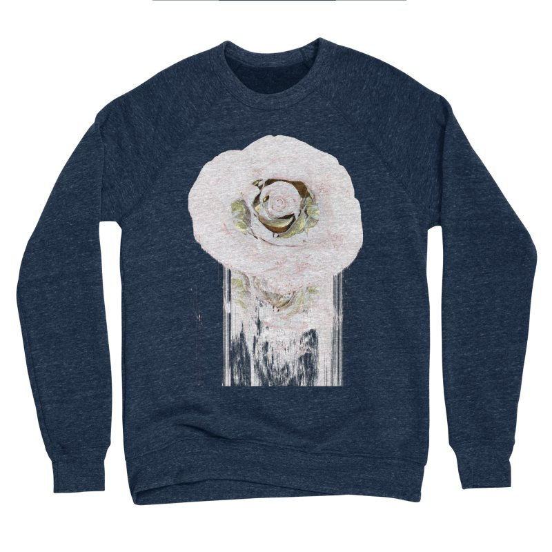 Super Rose Men's Sponge Fleece Sweatshirt by A R T L y - Goh's Shop