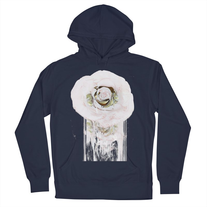 Super Rose Women's French Terry Pullover Hoody by A R T L y - Goh's Shop