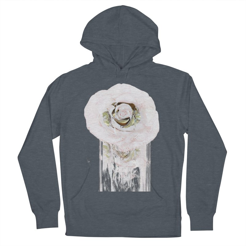 Super Rose Men's French Terry Pullover Hoody by A R T L y - Goh's Shop