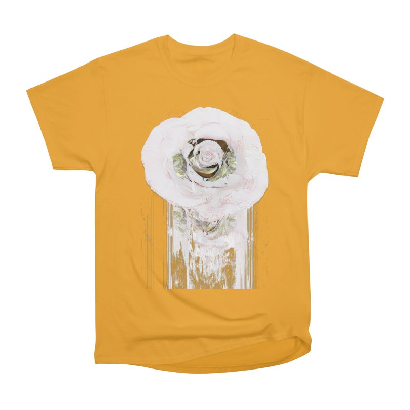 Super Rose Men's Heavyweight T-Shirt by A R T L y - Goh's Shop