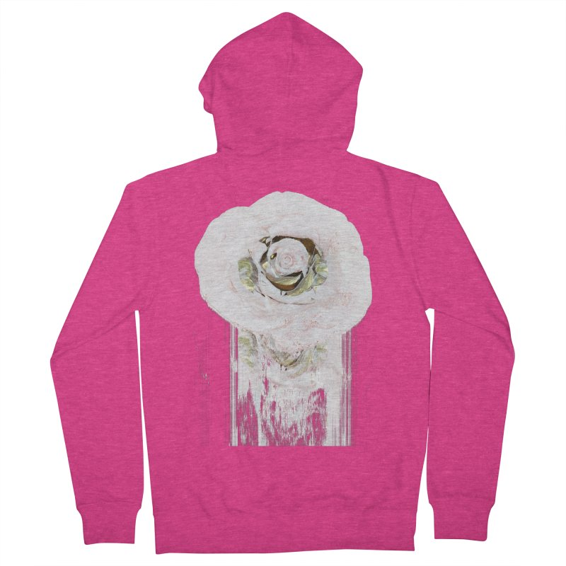 Super Rose Women's French Terry Zip-Up Hoody by A R T L y - Goh's Shop