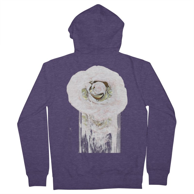 Super Rose Men's French Terry Zip-Up Hoody by A R T L y - Goh's Shop