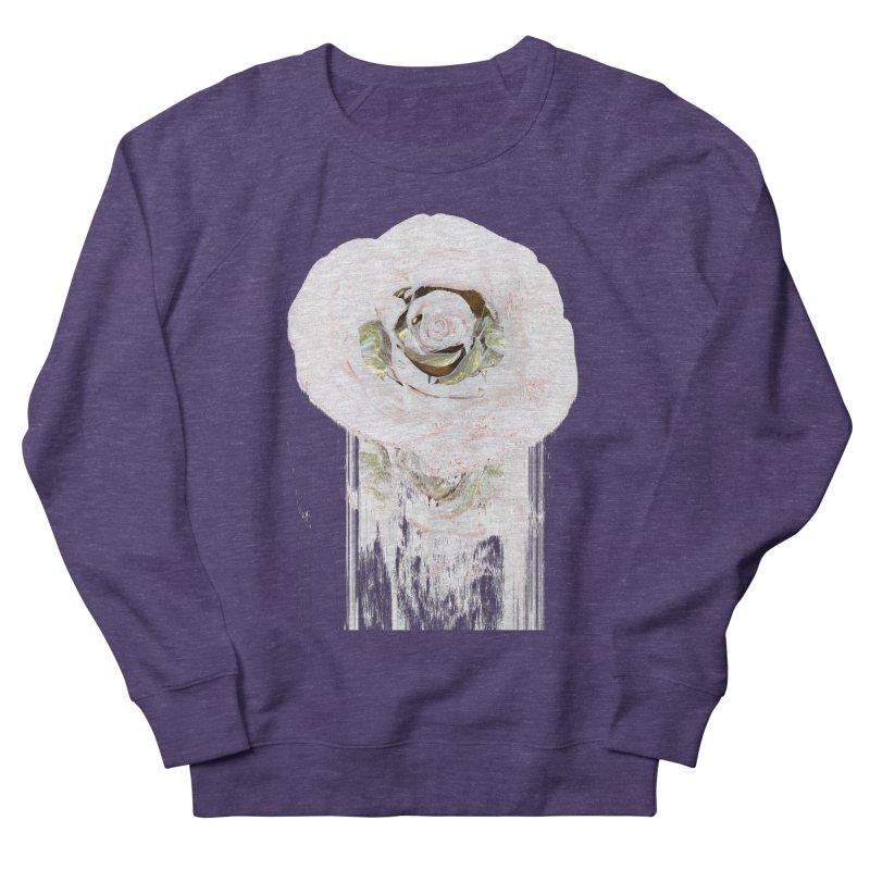 Super Rose Women's French Terry Sweatshirt by A R T L y - Goh's Shop