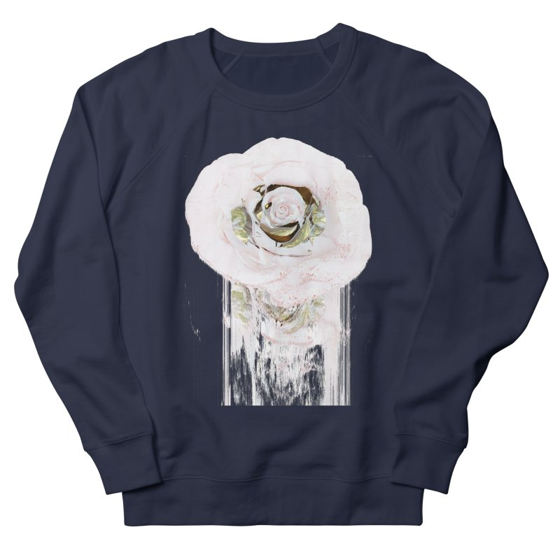 Super Rose Men's French Terry Sweatshirt by A R T L y - Goh's Shop
