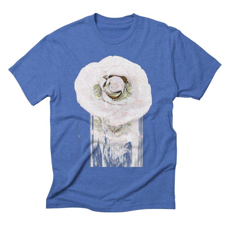 Super Rose Men's Triblend T-Shirt by A R T L y - Goh's Shop