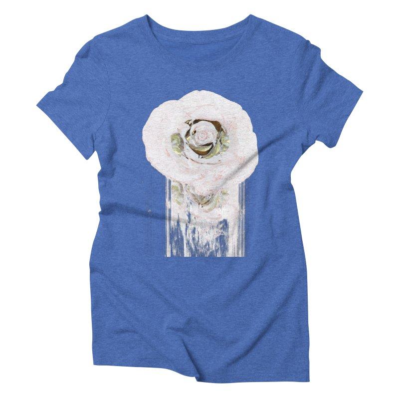Super Rose Women's Triblend T-Shirt by A R T L y - Goh's Shop