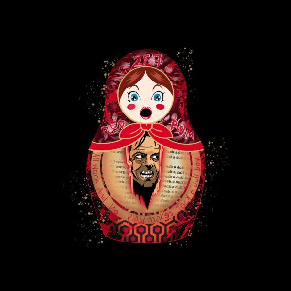 Design for The shining matryoshka