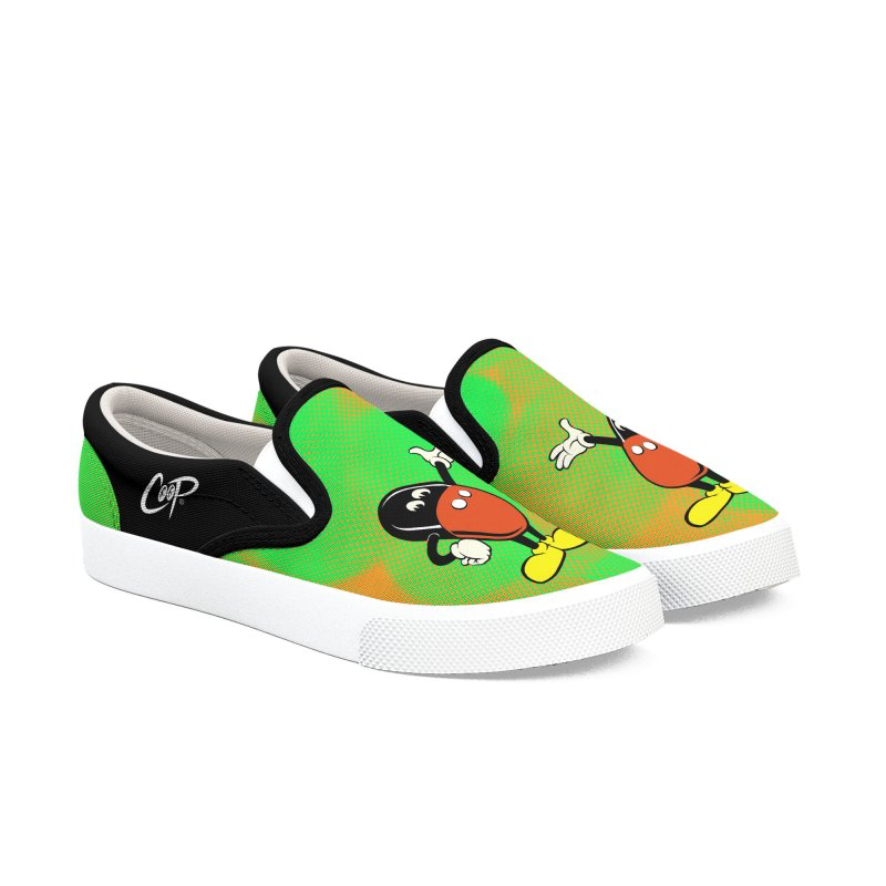 MICKEY FINN in Men's Slip-On Shoes by artofcoop's Artist Shop