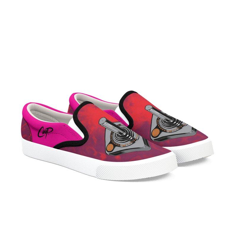JOYSTICK Men's Slip-On Shoes by artofcoop's Artist Shop