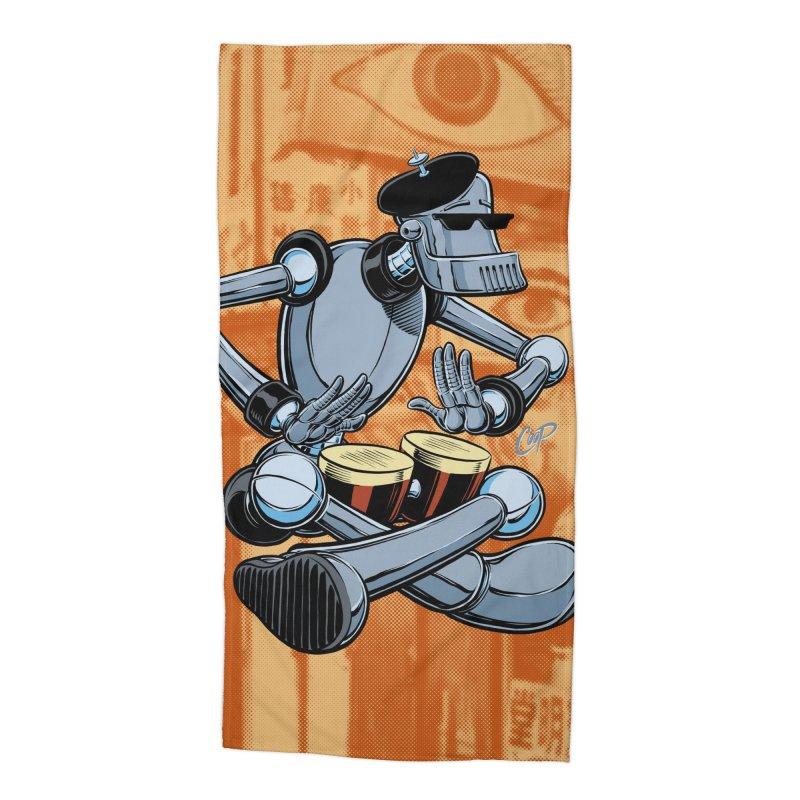 ROBEATNIK Accessories Beach Towel by The Art of Coop